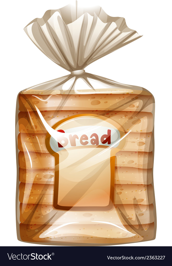 A pack of sliced bread vector | Price: 1 Credit (USD $1)