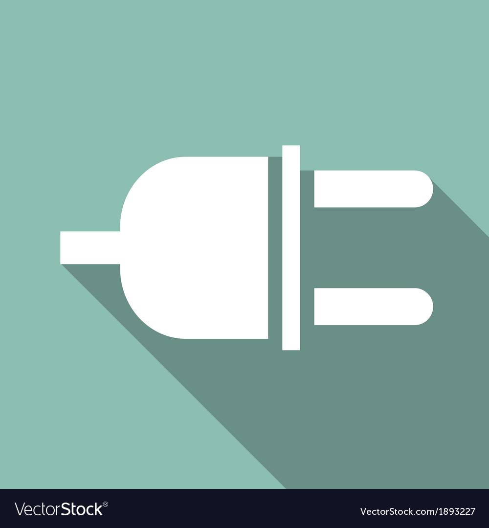 Eco flat icon vector | Price: 1 Credit (USD $1)