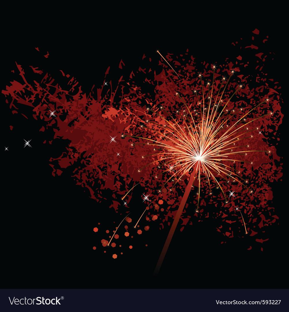 Firecracker vector | Price: 1 Credit (USD $1)