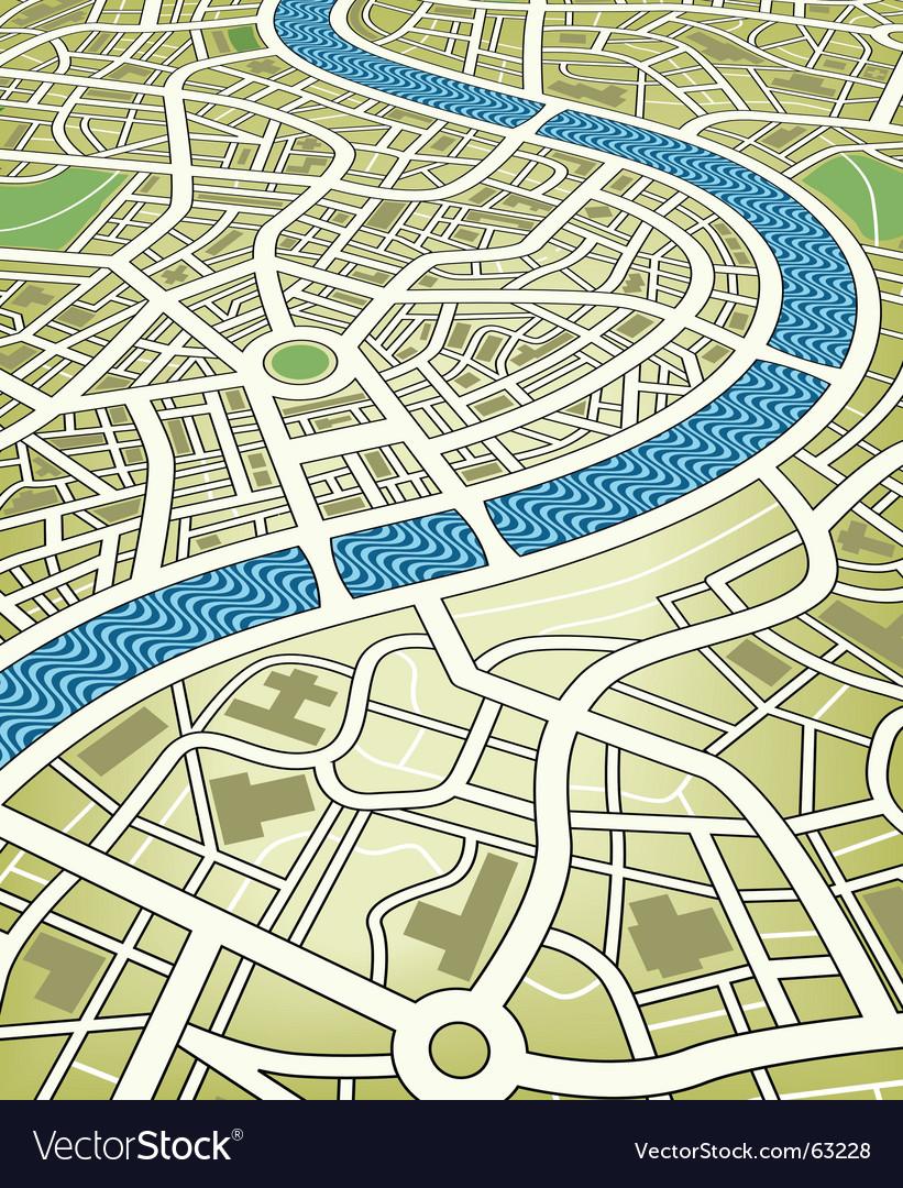 City map vector | Price: 1 Credit (USD $1)
