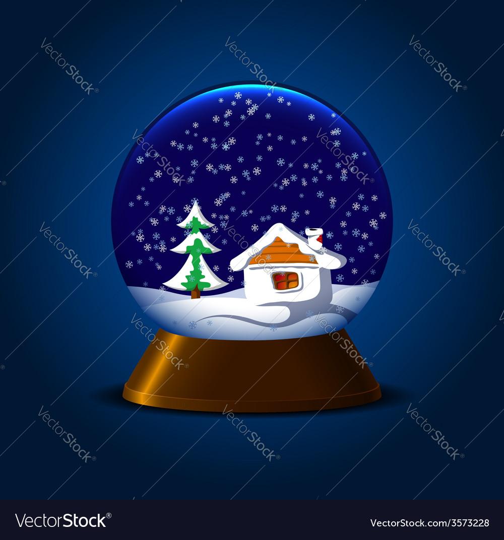 Magic snowball vector | Price: 1 Credit (USD $1)
