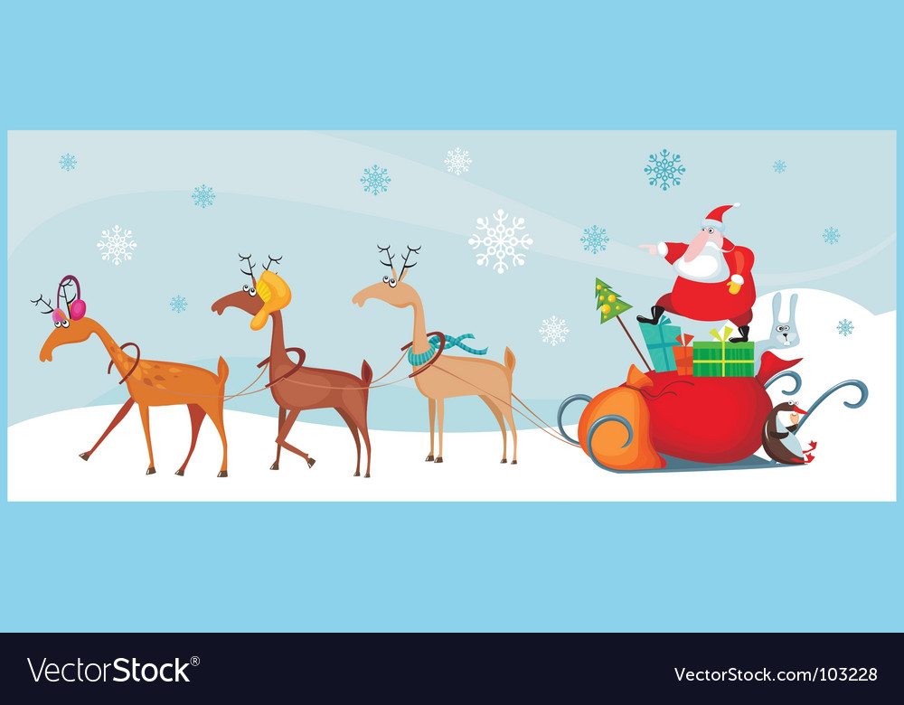 Santa vector | Price: 3 Credit (USD $3)