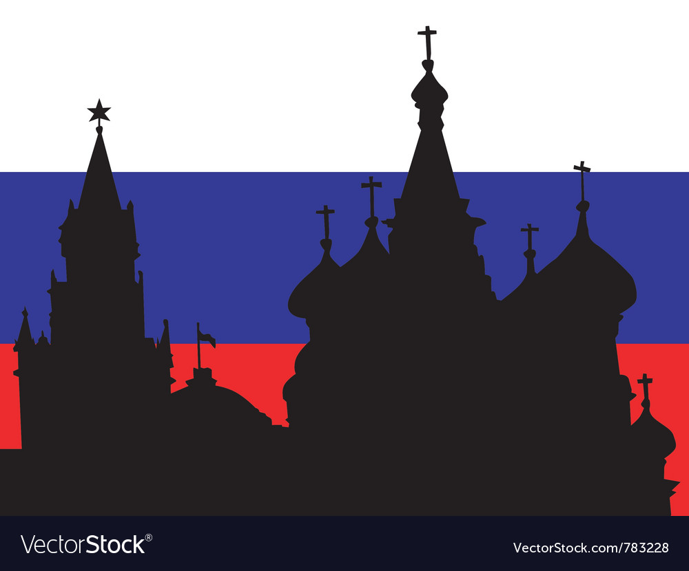 Silhouette of moscow vector   Price: 1 Credit (USD $1)