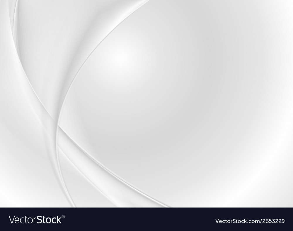 Abstract grey pearl waves vector