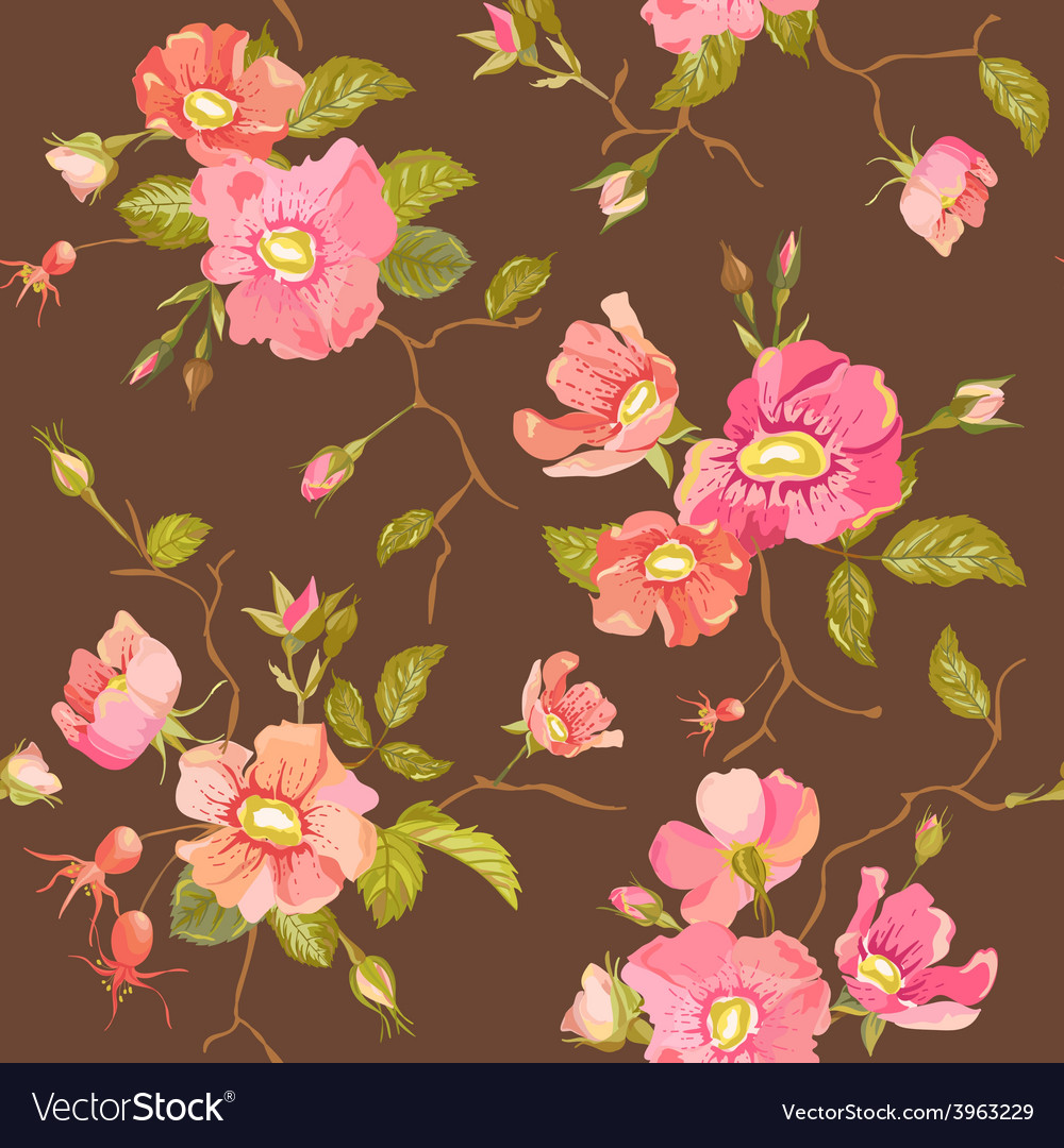 Roses background vector