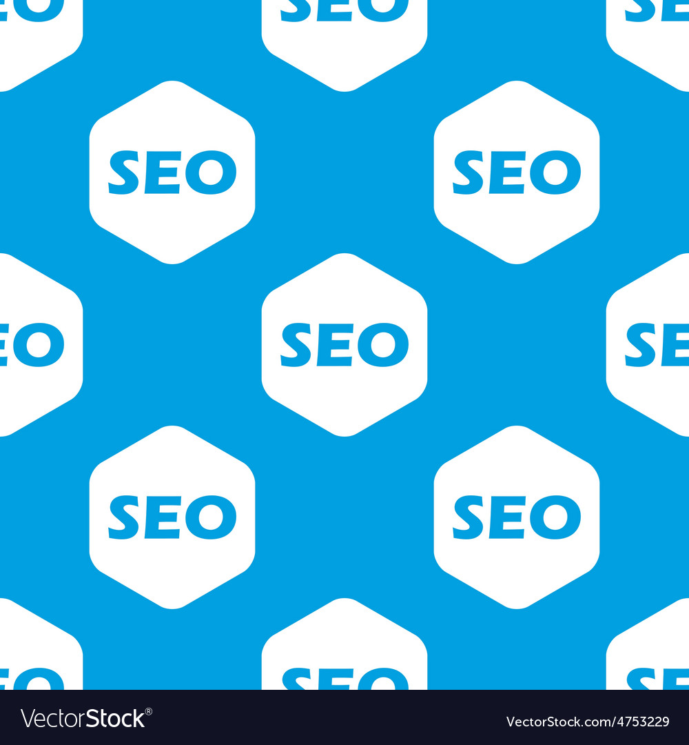 Seo hexagon pattern vector | Price: 1 Credit (USD $1)