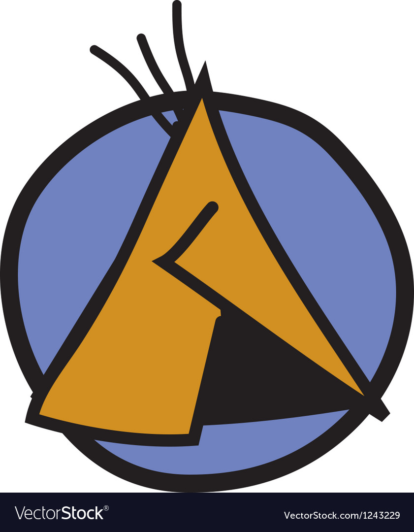 Tipi logo vector