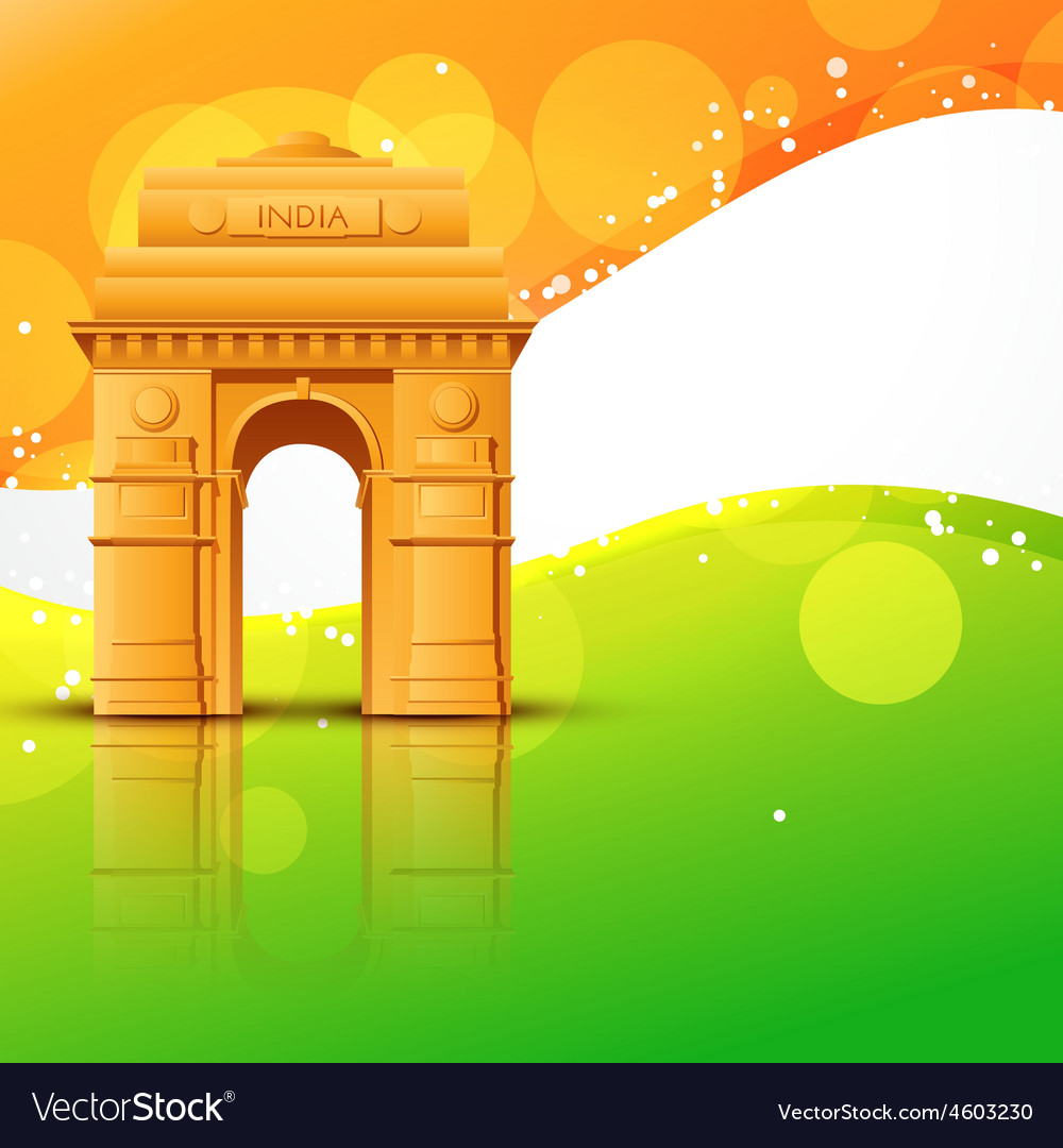 India gate vector | Price: 3 Credit (USD $3)