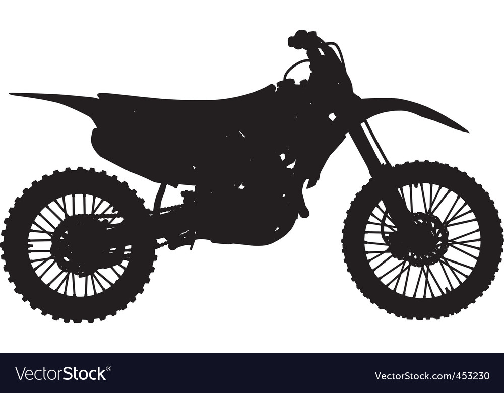 Motocross bike vector | Price: 1 Credit (USD $1)