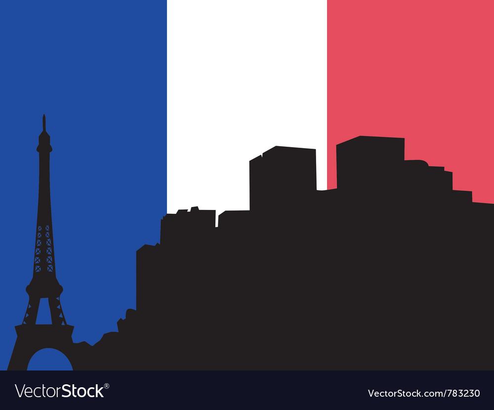 Silhouette of paris vector   Price: 1 Credit (USD $1)