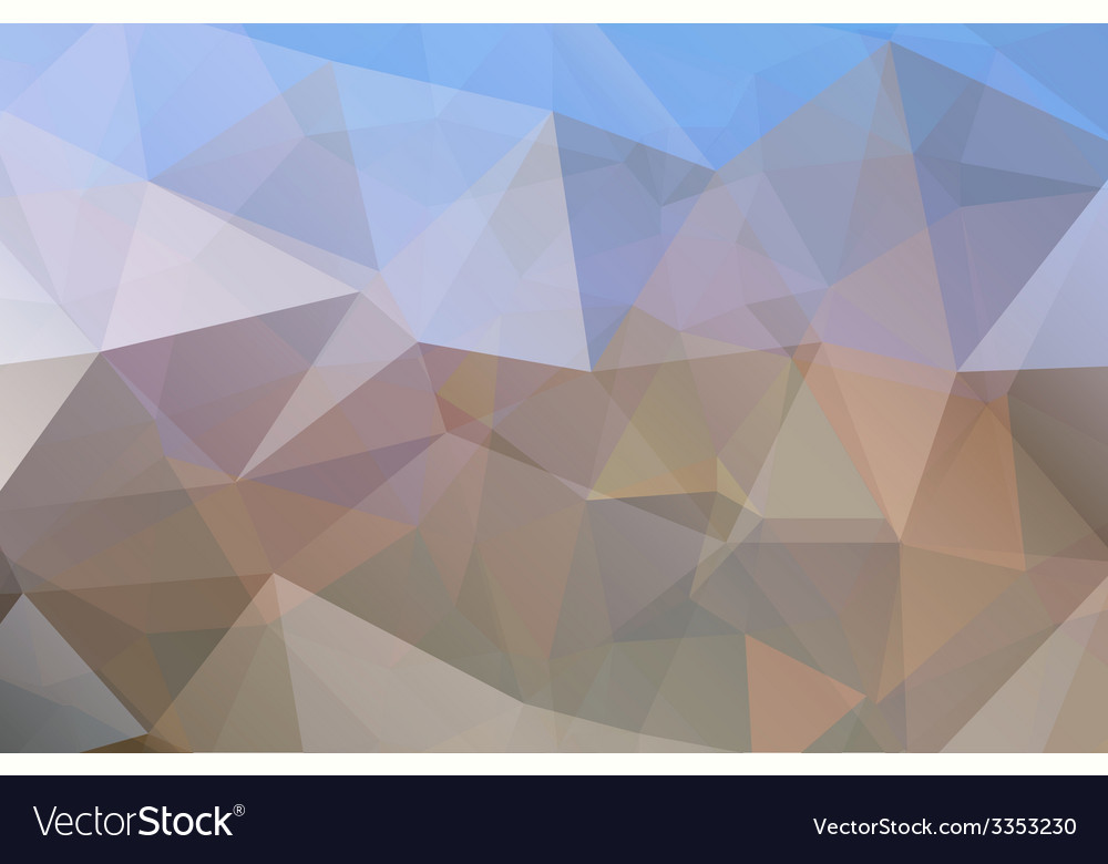 Triangle abstract background vector | Price: 1 Credit (USD $1)