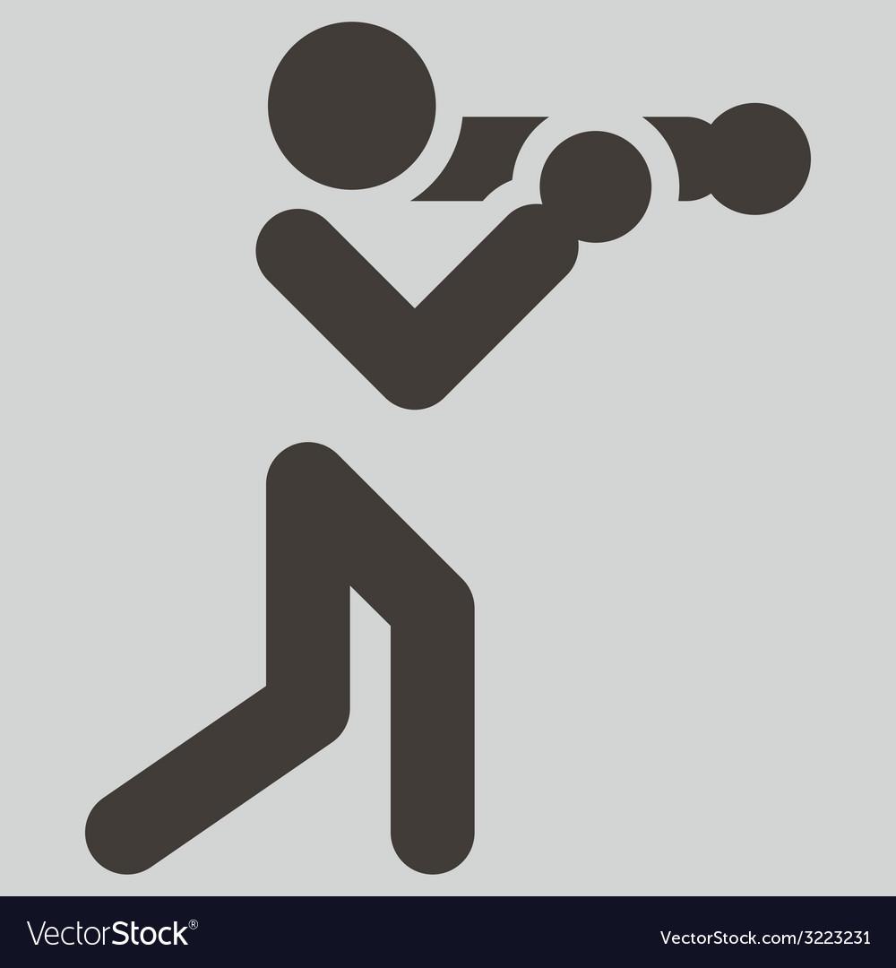 Boxing icon vector | Price: 1 Credit (USD $1)