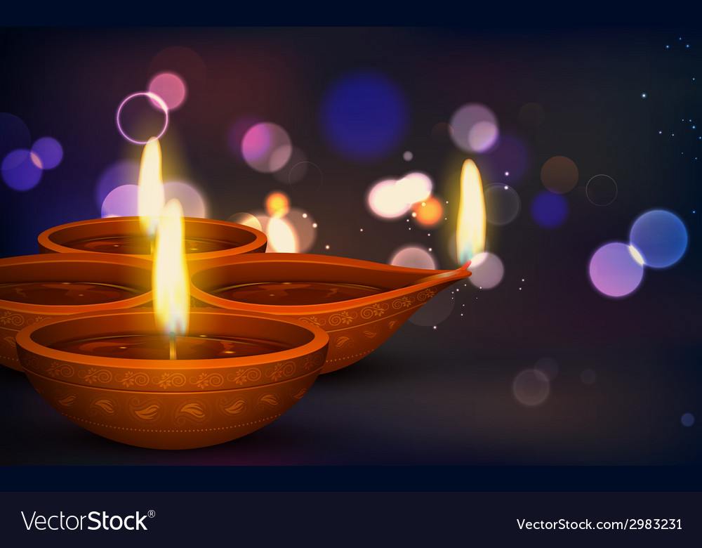 Diwali holiday background vector | Price: 3 Credit (USD $3)