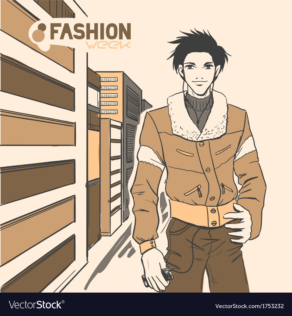 Fashion style07 vector | Price: 1 Credit (USD $1)