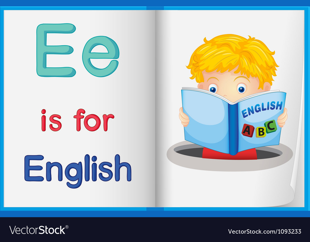 English worksheet vector | Price: 1 Credit (USD $1)