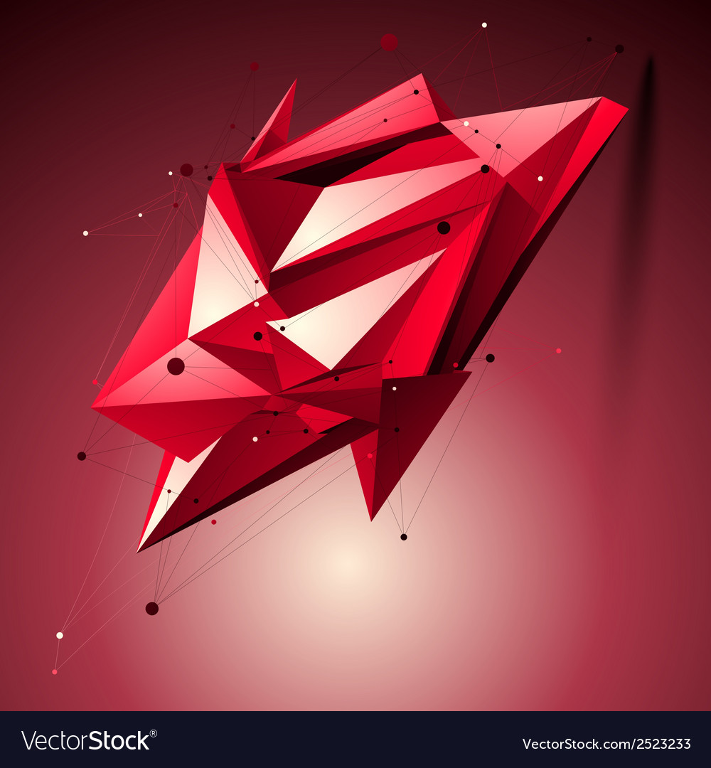 Ruby spatial technological shape polygonal vector   Price: 1 Credit (USD $1)