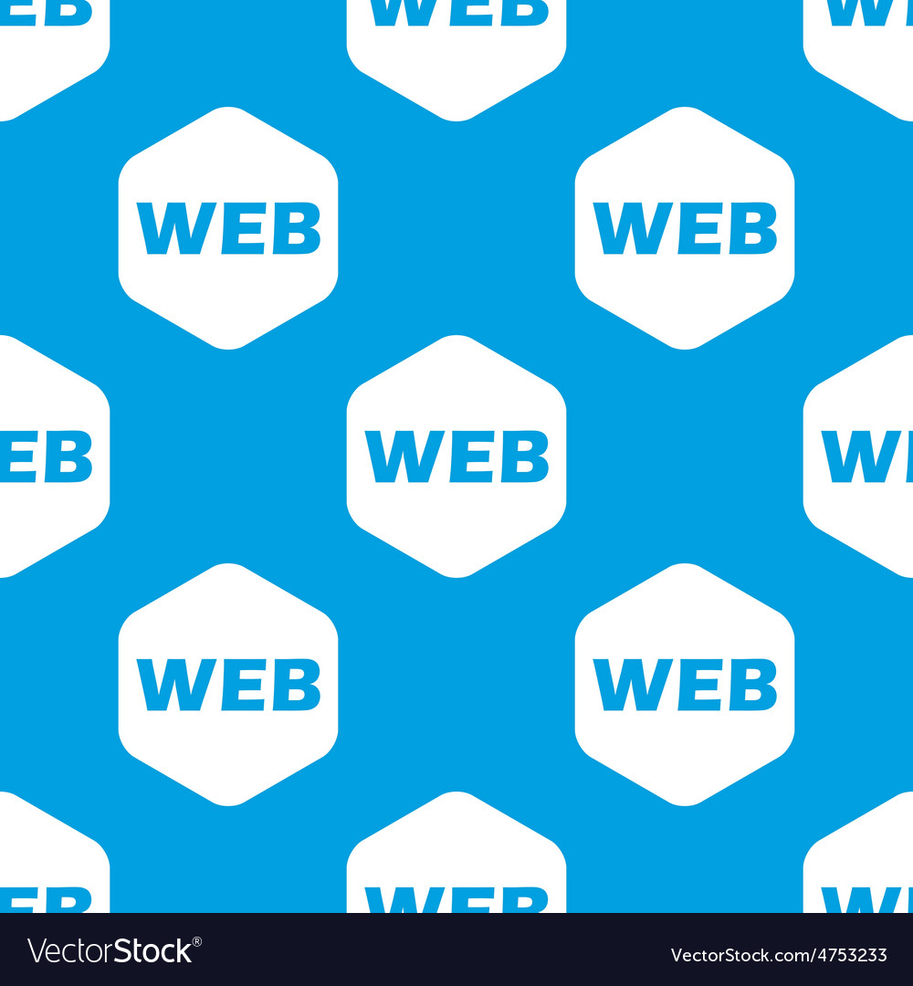 Web hexagon pattern vector | Price: 1 Credit (USD $1)
