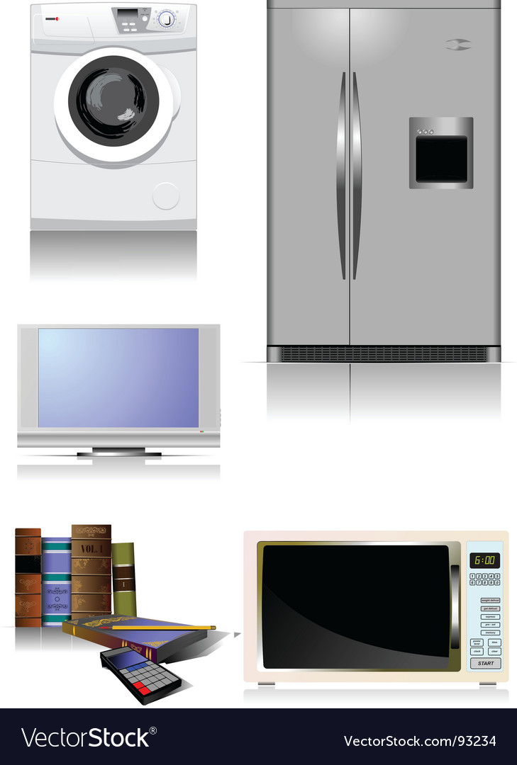 Home equipment vector | Price: 1 Credit (USD $1)