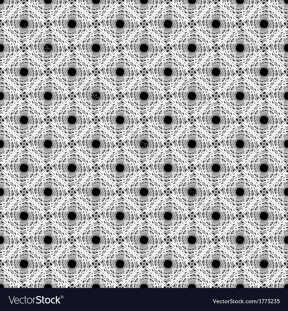 Design seamless monochrome diagonal points pattern vector | Price: 1 Credit (USD $1)