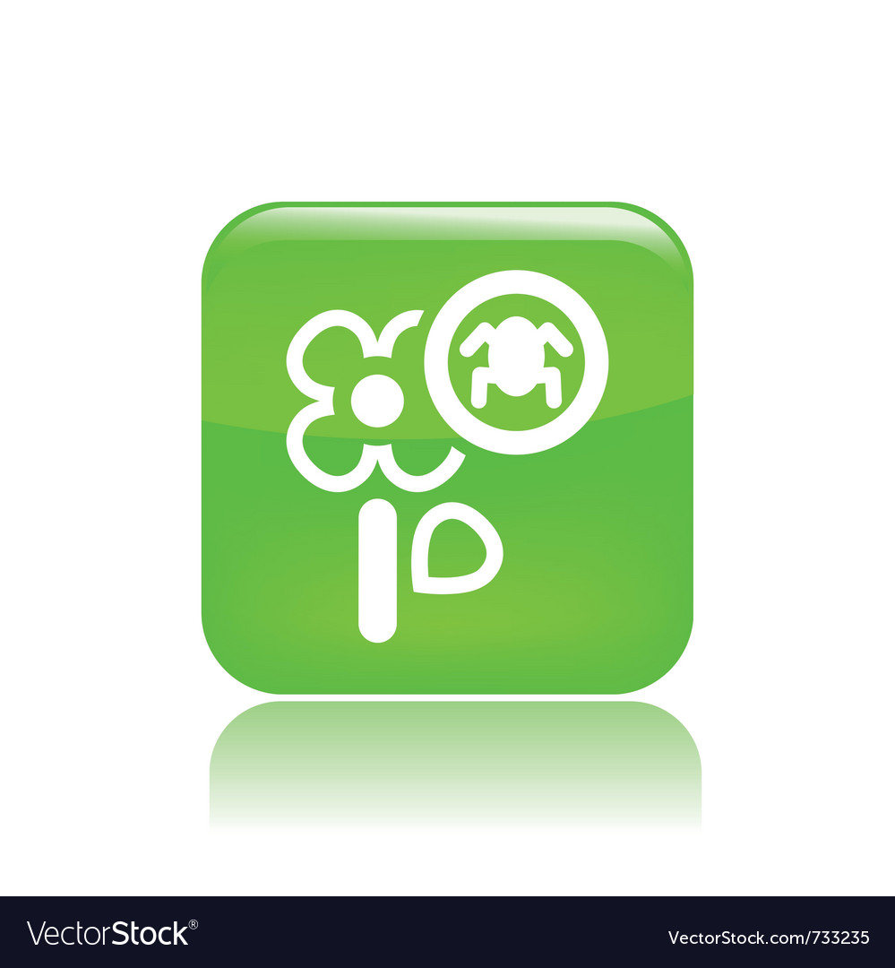 Flower pesticides icon vector | Price: 1 Credit (USD $1)