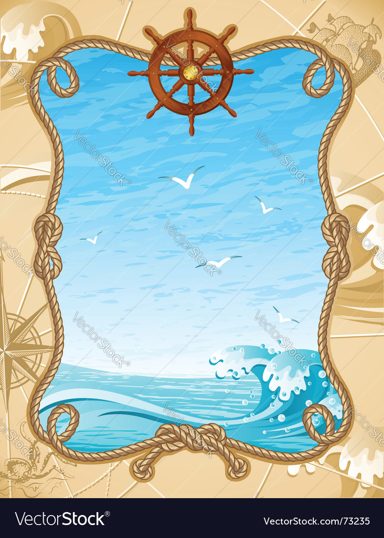 Sailing background vector | Price: 3 Credit (USD $3)