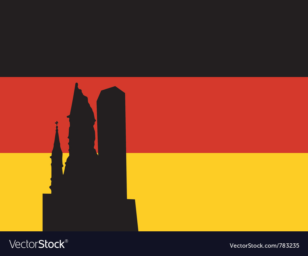 Silhouette of berlin vector | Price: 1 Credit (USD $1)