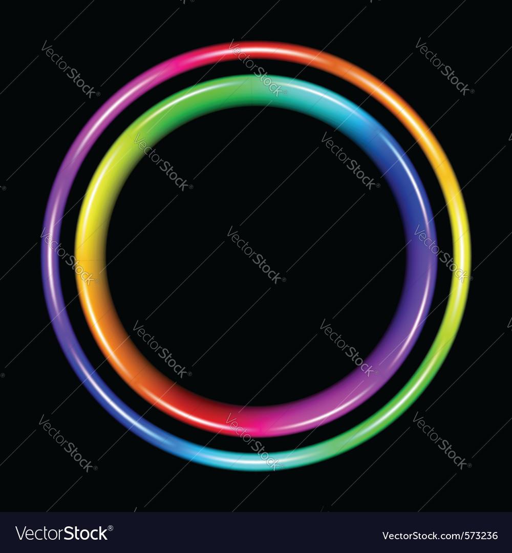 Multicolor spectral circle vector | Price: 1 Credit (USD $1)