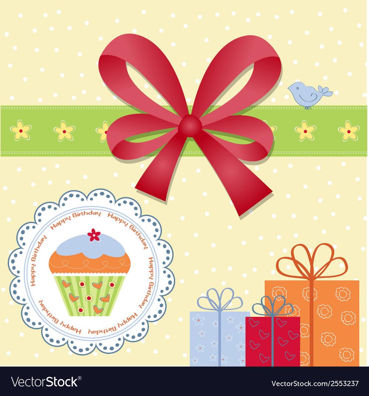Birthday invitation vector   Price: 1 Credit (USD $1)