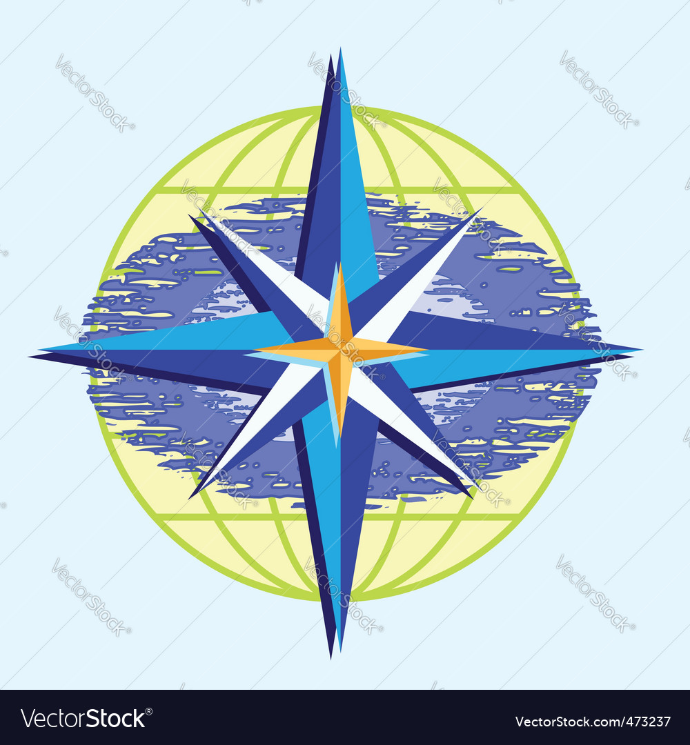 Compass star vector | Price: 1 Credit (USD $1)