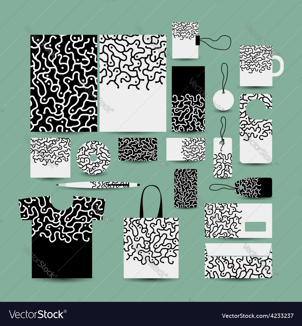Corporate business style abstract design vector | Price: 1 Credit (USD $1)