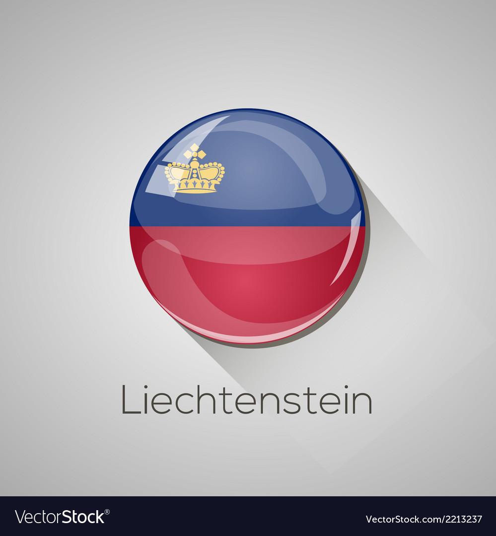 European flags set - liechtenstein vector   Price: 1 Credit (USD $1)