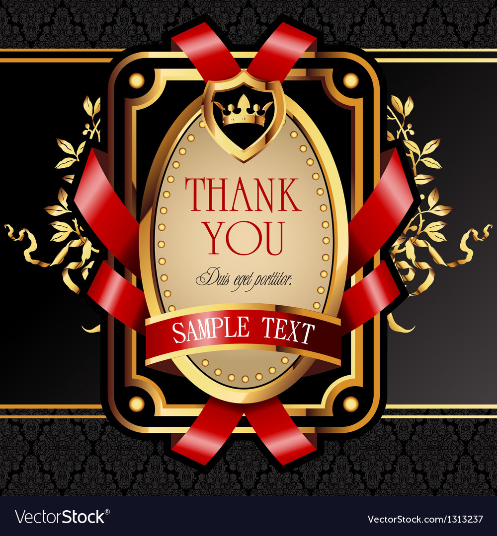 Golden royal lable vector | Price: 3 Credit (USD $3)
