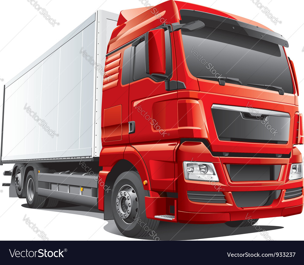 Large modern waggon vector | Price: 5 Credit (USD $5)