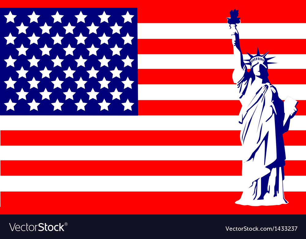 Statue of liberty vector | Price: 1 Credit (USD $1)