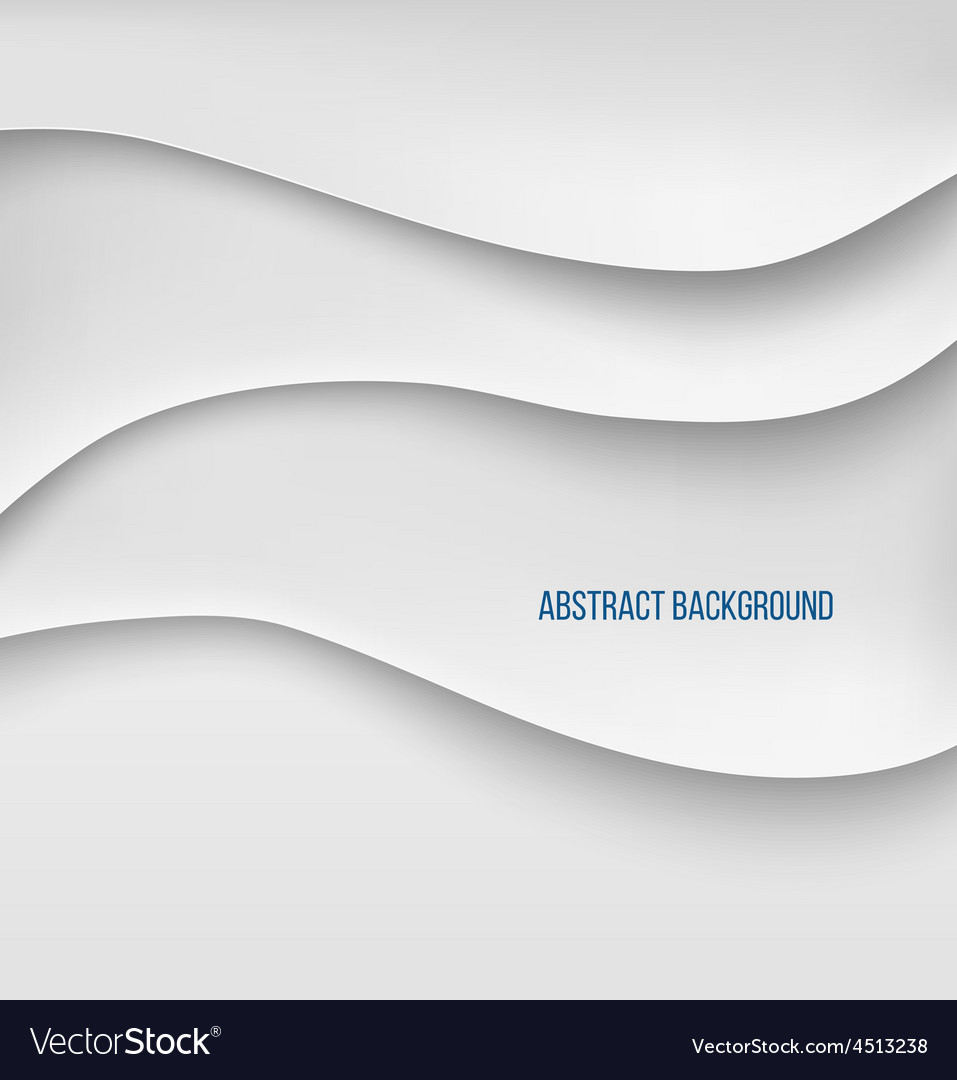 Abstract white paper layers background shadow vector   Price: 1 Credit (USD $1)