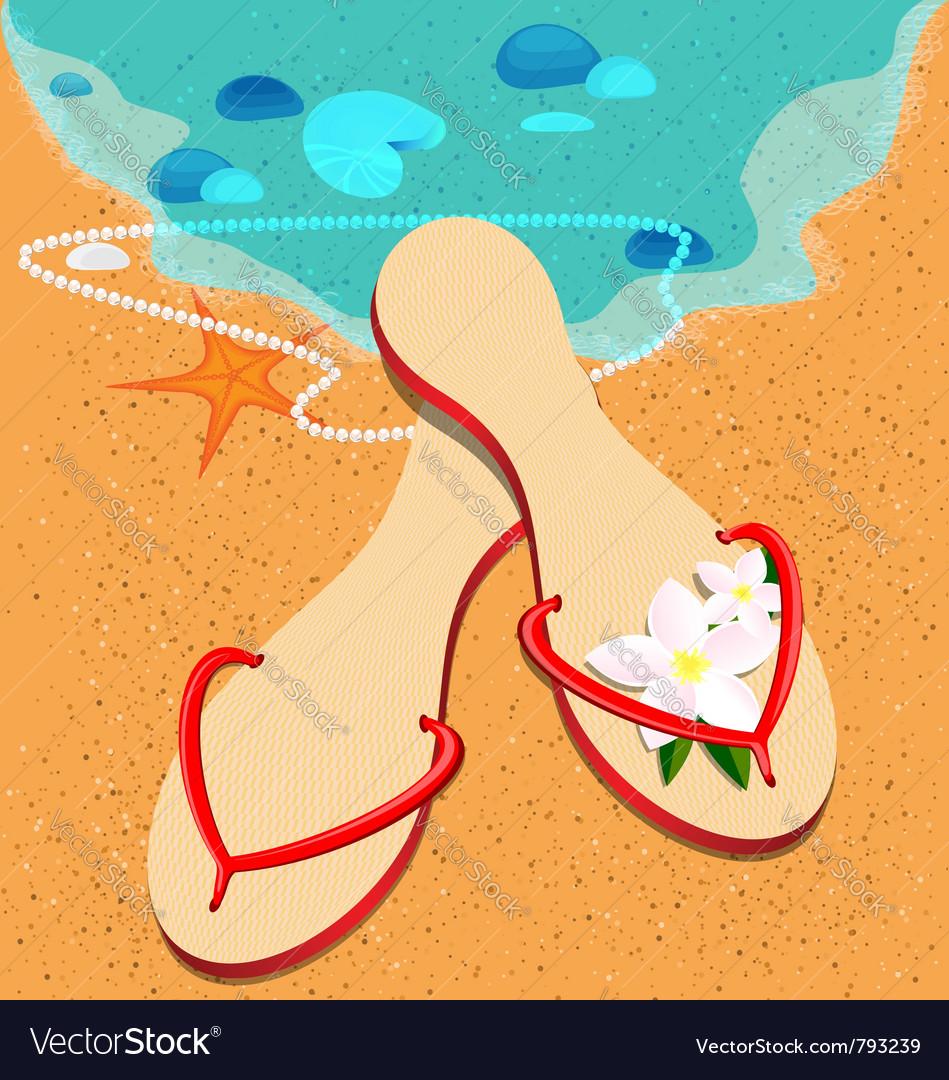 Sandshoes vector | Price: 1 Credit (USD $1)