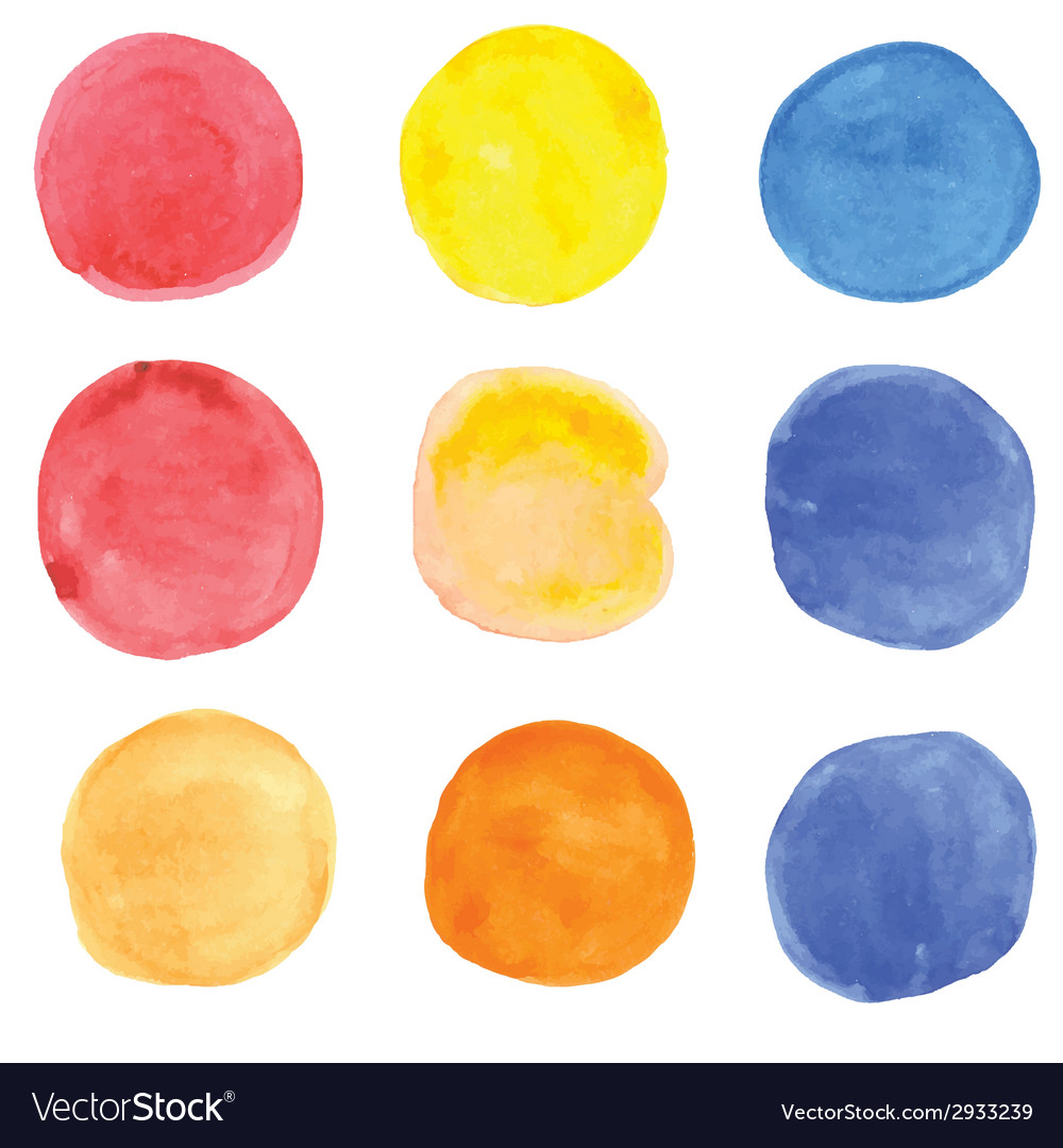 Watercolor grunge spots banners for your design vector | Price: 1 Credit (USD $1)