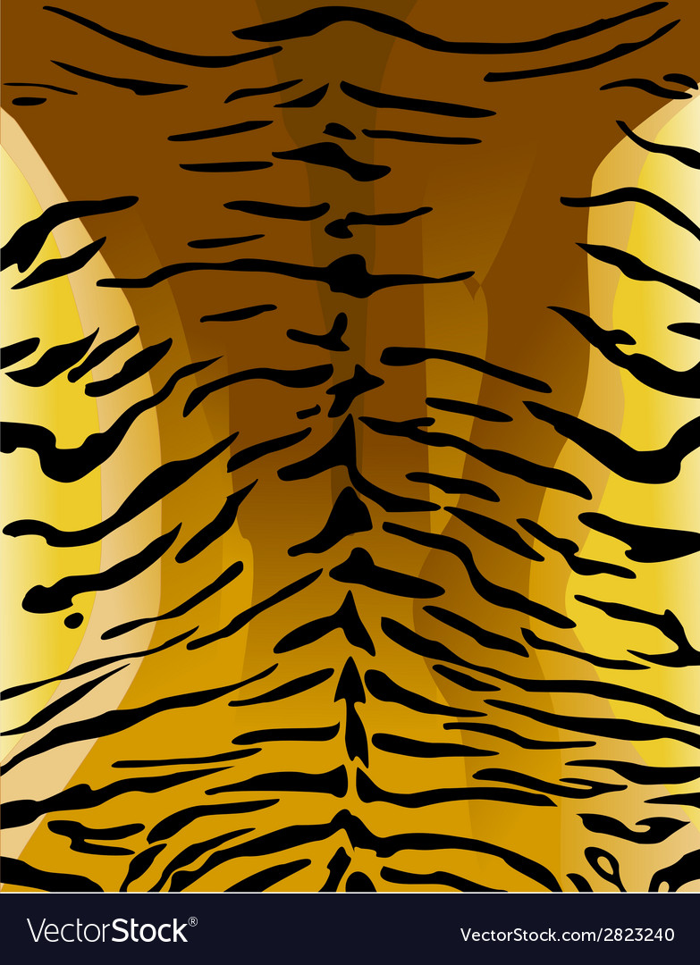 Imitation of tiger leather as a background vector | Price: 1 Credit (USD $1)