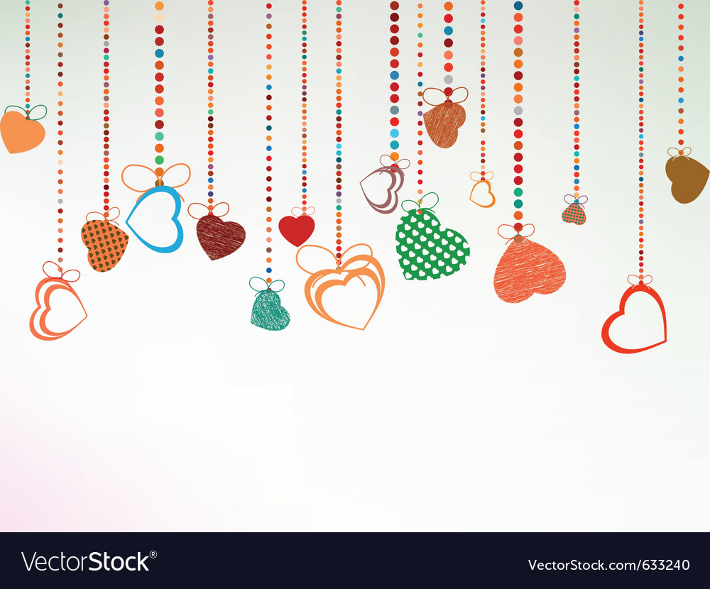 Valentine day background eps 8 vector   Price: 1 Credit (USD $1)