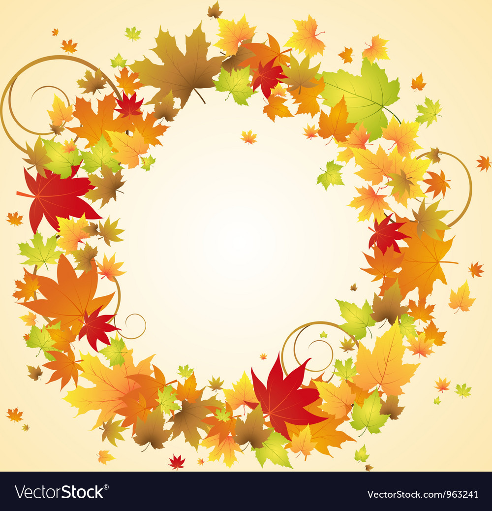 Autumn design vector | Price: 1 Credit (USD $1)