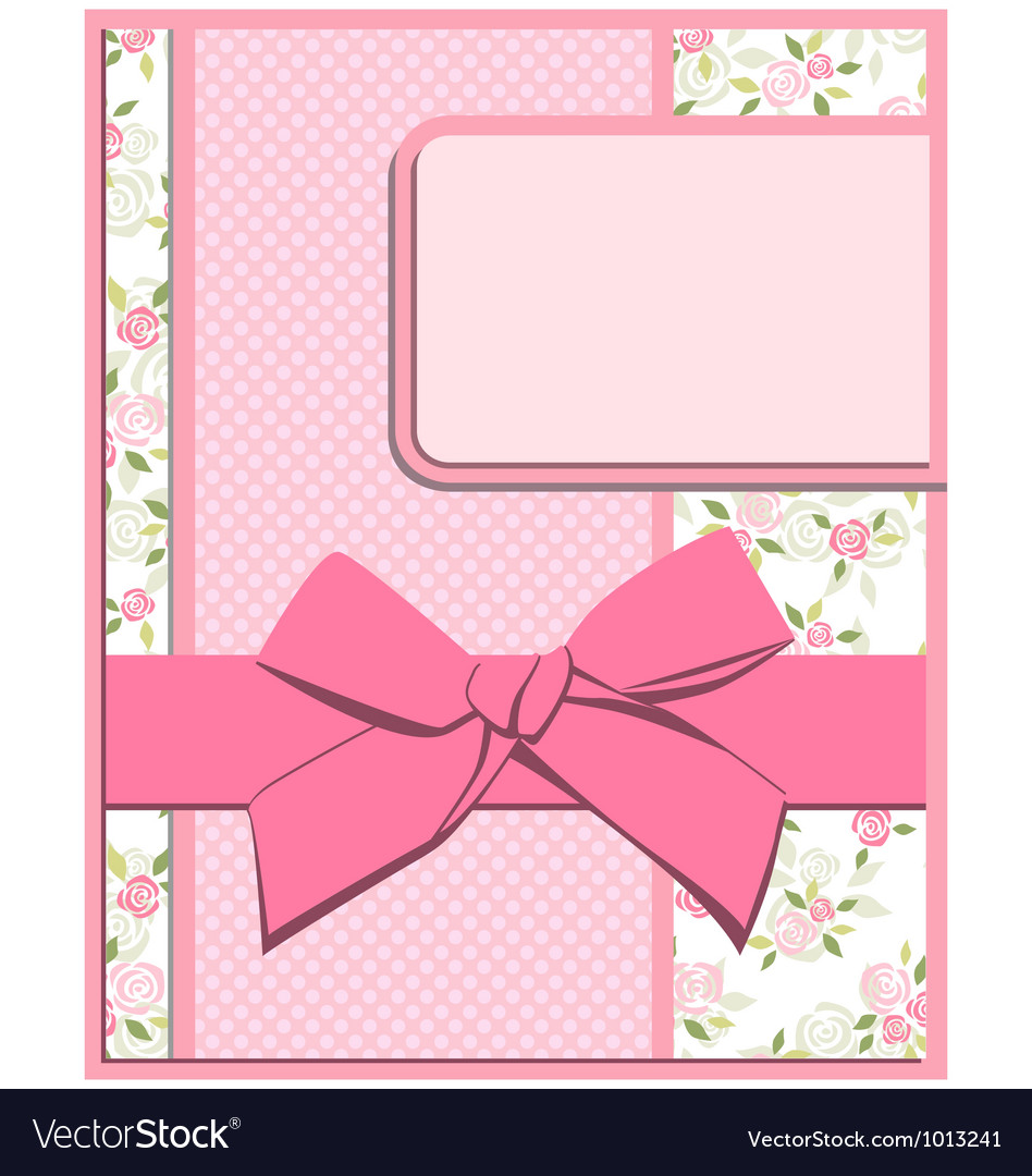 Flower card set vector | Price: 1 Credit (USD $1)