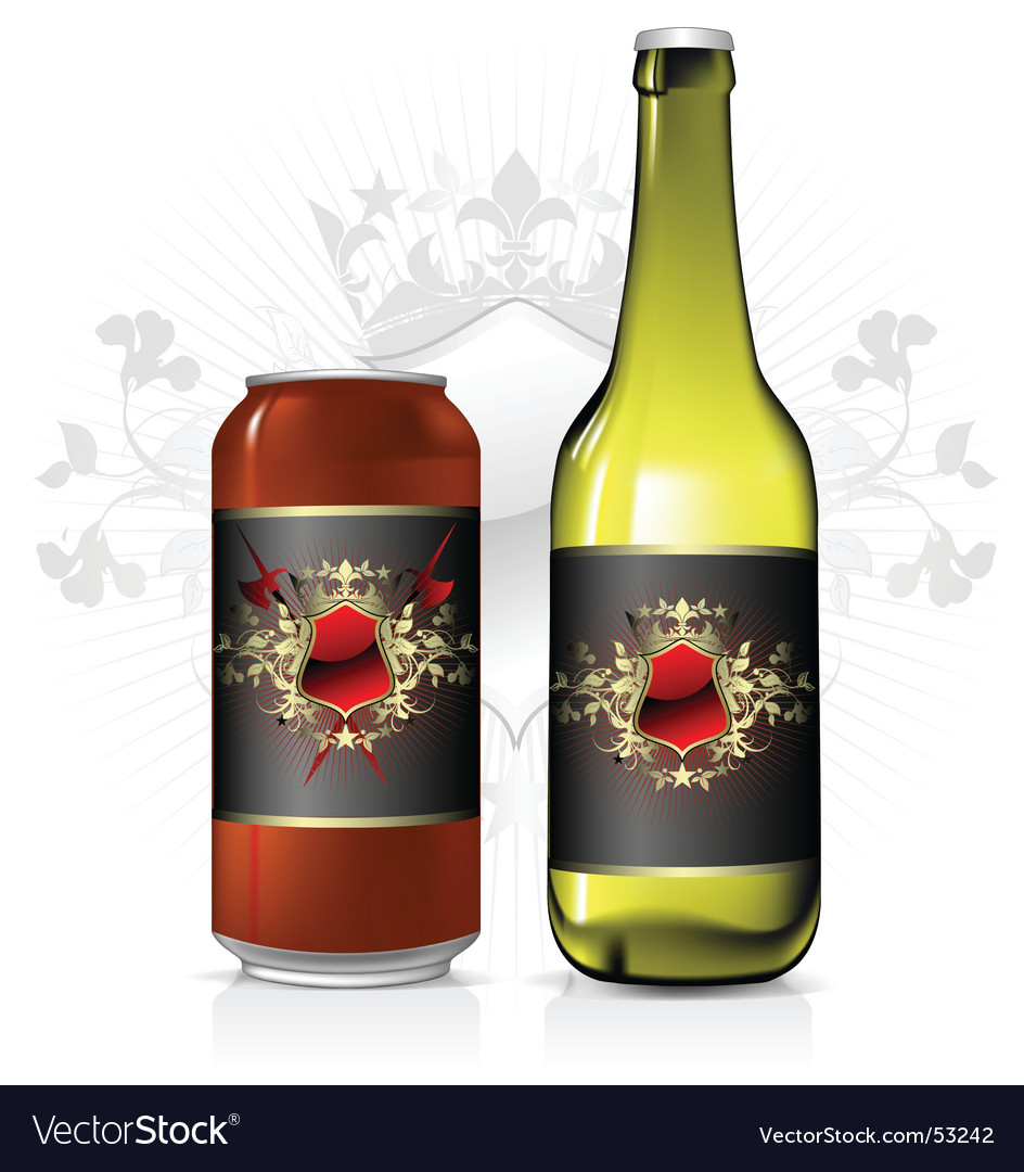 Beverage label vector | Price: 3 Credit (USD $3)