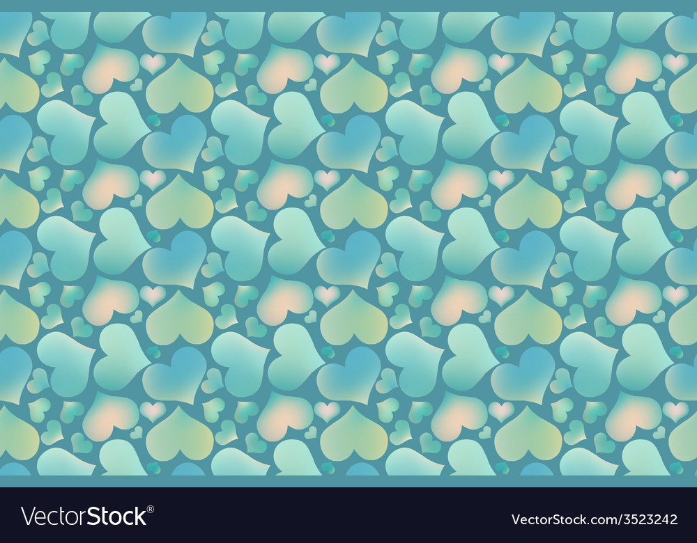 Endless blue romantic simple pattern vector | Price: 1 Credit (USD $1)