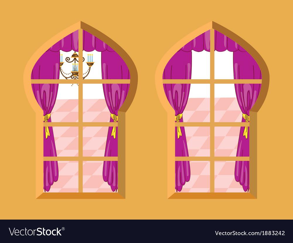 Indian window vector | Price: 1 Credit (USD $1)