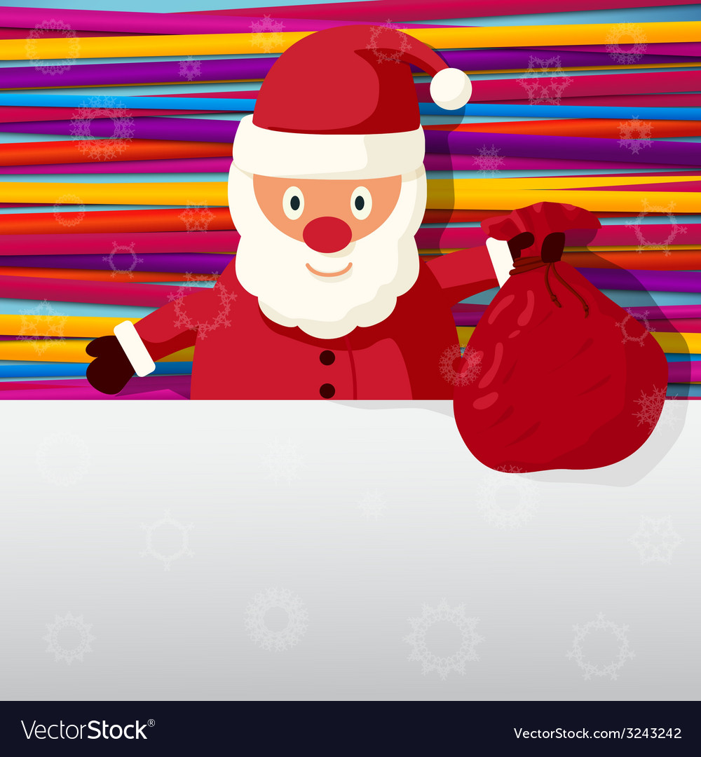 Merry christmas and happy new year greeting card - vector | Price: 1 Credit (USD $1)