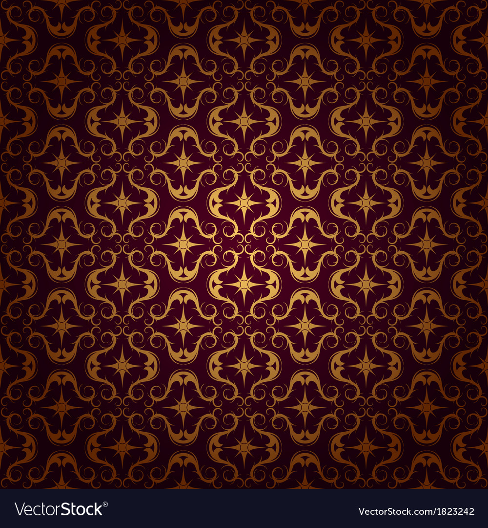 Ornaments background red vector | Price: 1 Credit (USD $1)