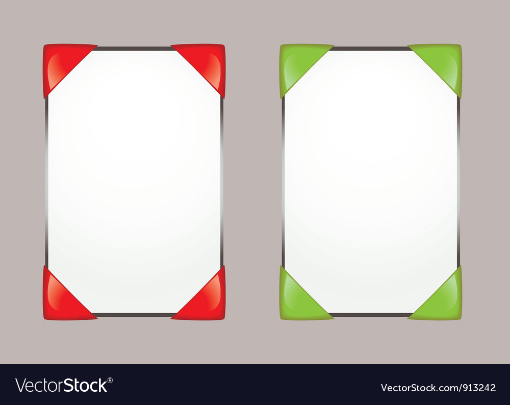Paper notice board vector | Price: 1 Credit (USD $1)