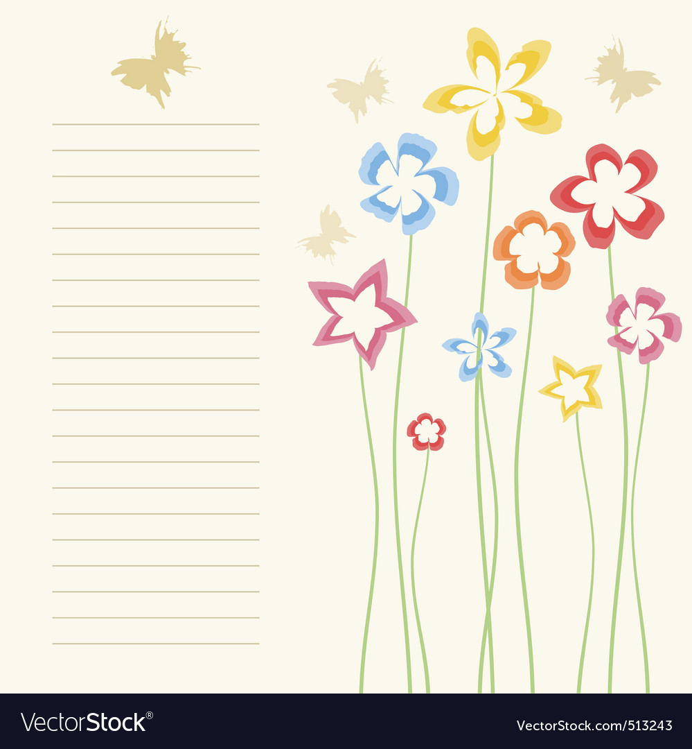 Flower a background2 vector | Price: 1 Credit (USD $1)
