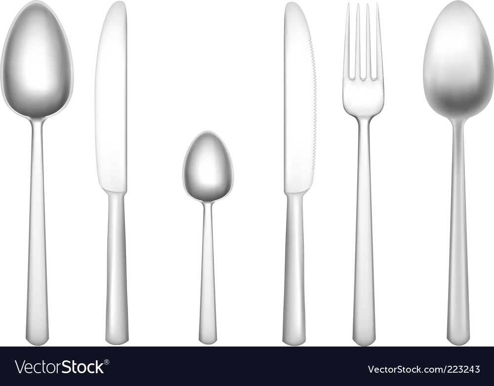 Tableware objects vector | Price: 1 Credit (USD $1)