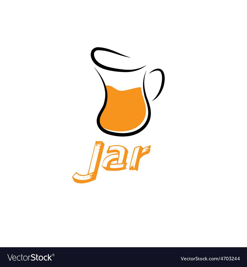Jar design template vector | Price: 1 Credit (USD $1)